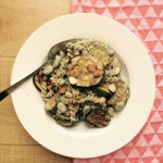 Door-de-week-pastaatje met gegrilde courgette, munt & ricotta