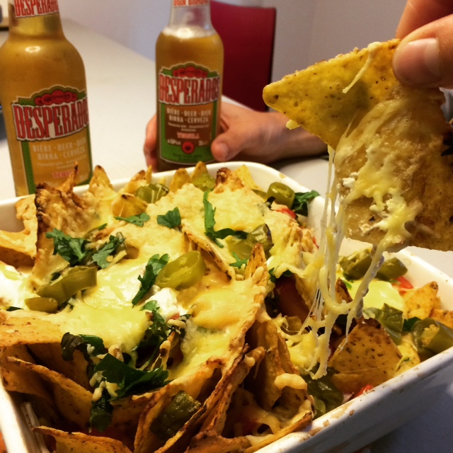 Mexicaanse nachoschotel