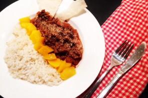 Pilav recept met perzik en kokosrasp