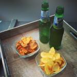 Zelf chips maken: sweet chili & naturel zeezout