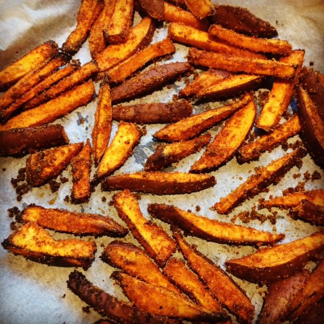 Zoete-aardappel-frietjes