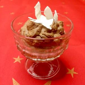 Chocolademousse zonder ei