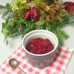Cranberrycompote met mandarijn