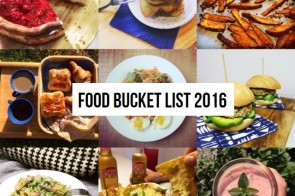 FOOD BUCKET LIST #2016