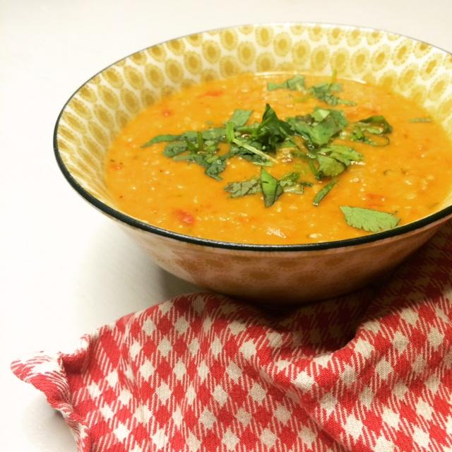 linzensoep vegetarisch recept