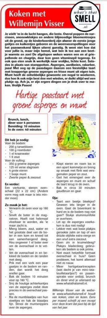 Koken met Willemijn Visser - Hartige taart