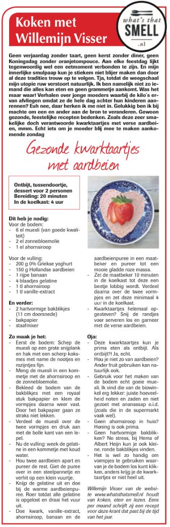 Koken met Willemijn Visser - moederdagrecept
